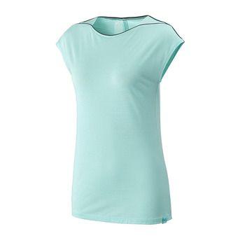 Camiseta mujer CLOUD PEAK aruba blue