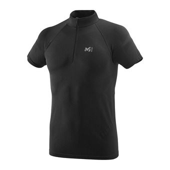 Maillot 1/2 zippé MC homme LKT SEAMLESS LIGHT black