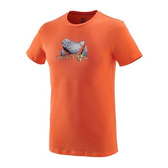 Tee-shirt MC homme BOULDER DREAM vermillon