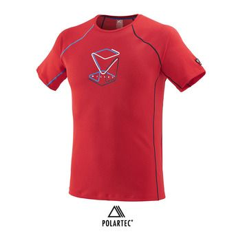 Camiseta hombre TRILOGY DELTA CUBE red