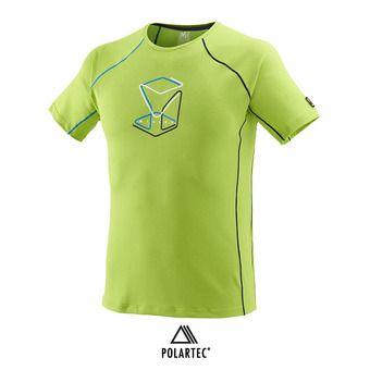 Camiseta hombre TRILOGY DELTA CUBE acid green