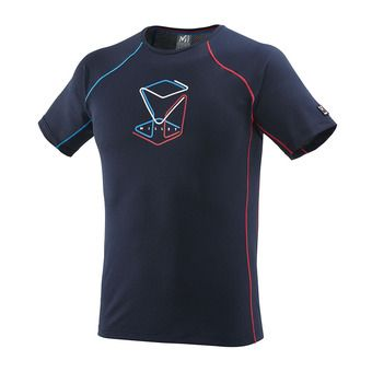 Millet TRILOGY DELTA CUBE - Camiseta hombre saphir