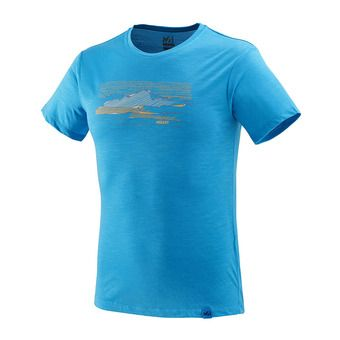 Millet SEVAN WOOL - T-Shirt - Men's - electric blue