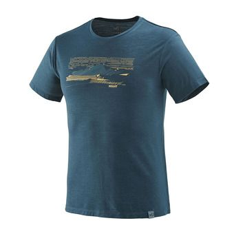 Tee-shirt MC homme SEVAN WOOL orion blue