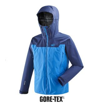 Veste à capuche homme KAMET LIGHT GTX® electric blue/blue depths