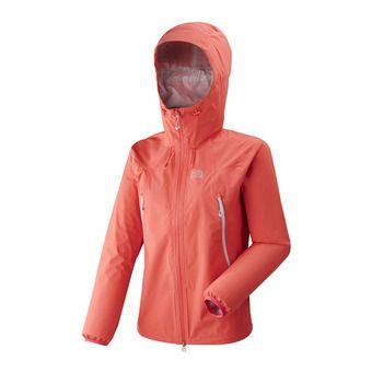 Veste à capuche femme K ABSOLUTE 2.5L dark coral