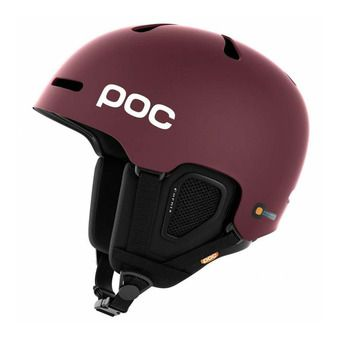 Casco de esquí FORNIX copper red