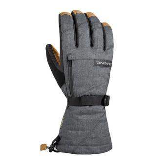 Dakine LEATHER TITAN - Gants 2 en 1 Homme carbon