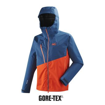 Chaqueta hombre ELEVATION GTX® orange/poseidon