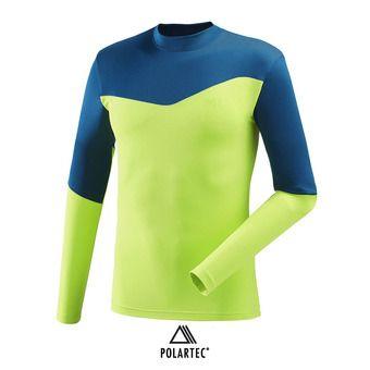 Camiseta térmica hombre WHITE NEO acid green/poseidon