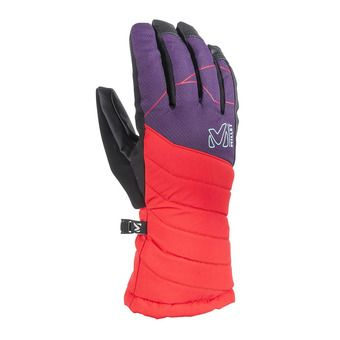 Gants femme ATNA PEAK DRYEDGE poppy red/black berry