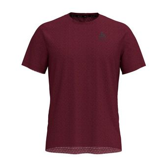 Odlo MILLENIUM LINENCOOL - Camiseta hombre zinfandel heather