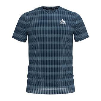 Odlo CERAMICOOL BLACKCOMB - Camiseta hombre faded denim
