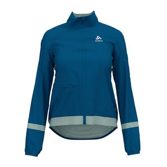 Odlo FUJIN LIGHT - Chaqueta mujer mykonos blue/surf spray