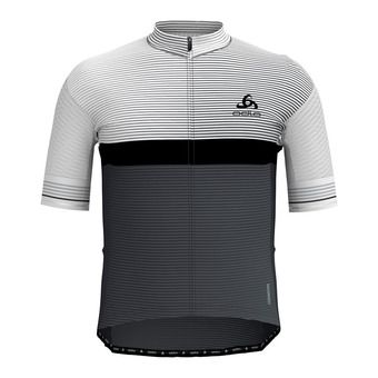 Odlo ZEROWEIGHT CERAMICOOL PRO - Jersey - Men's - white/graphite grey