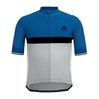 Odlo ZEROWEIGHT CERAMICOOL PRO - Camiseta hombre nebulas blue/white