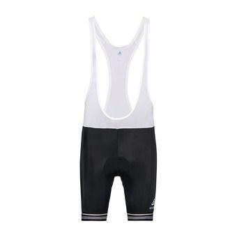 Odlo ZEROWEIGHT CERAM - Pantaloncini con bretelle Uomo black/white