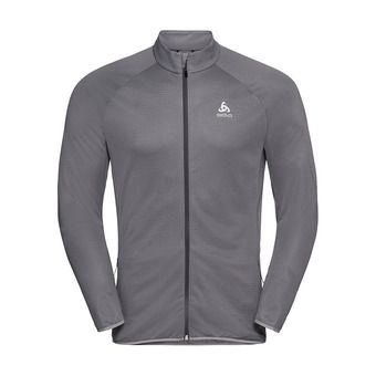 Odlo FLI - Sweat Homme graphite grey/concrete grey/stripes