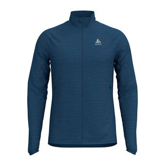 Odlo STEAM - Sudadera hombre ensign blue heather