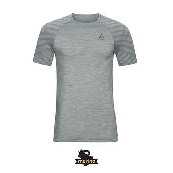 Camiseta hombre KINSHIP SEAMLESS grey melange