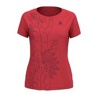 Odlo CONCORD - Tee-shirt Femme chrysanthemum/flower leaf print