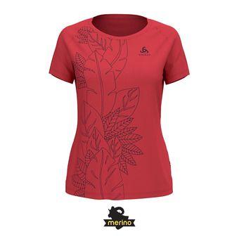 Odlo CONCORD - Camiseta mujer chrysanthemum/flower leaf print
