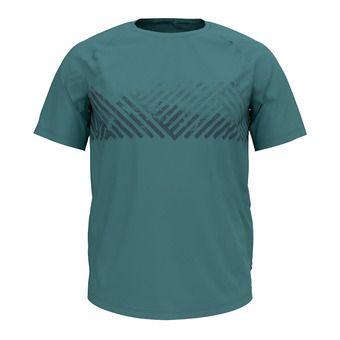 Odlo CONCORD - T-Shirt - Men's - arctic/mountain print