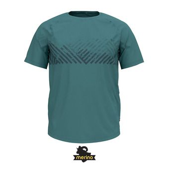 Odlo CONCORD - Camiseta hombre arctic/mountain print