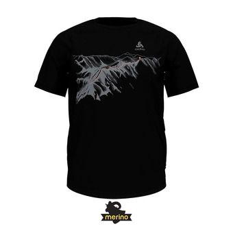 Odlo CONCORD - Tee-shirt Homme black/mountain print