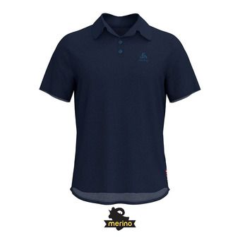 Polo hombre CERAMIWOOL diving navy