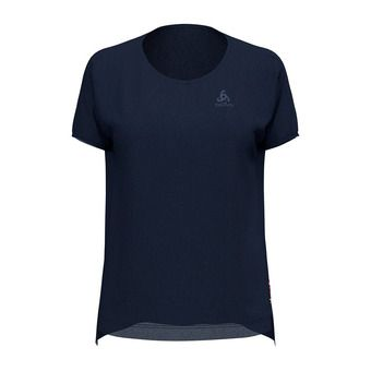 Odlo CERAMIWOOL - T-Shirt - Women's - diving navy