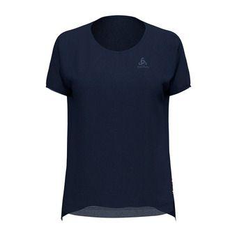 Odlo CERAMIWOOL - Tee-shirt Femme diving navy