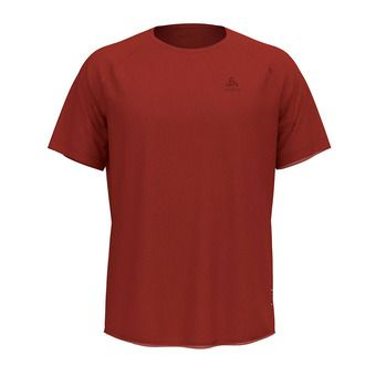 Odlo CERAMIWOOL - Tee-shirt Homme chili oil