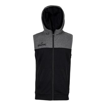 Spalding STREET - Sweat Homme noir/anthracite chiné