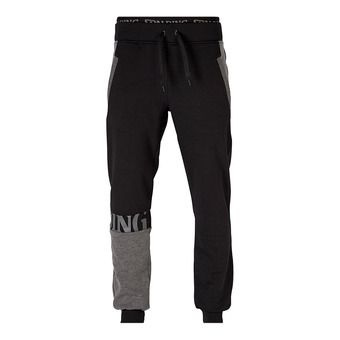 Spalding STREET - Pantaloni tuta Uomo nero/antracite melange
