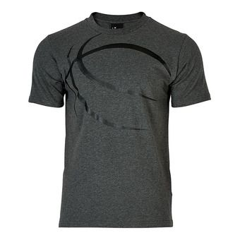 Spalding STREET - Tee-shirt Homme anthracite chiné