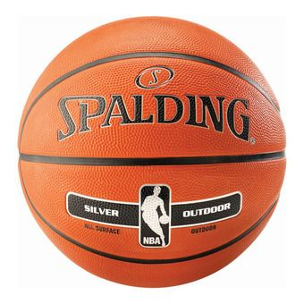Balón de baloncesto NBA SILVER OUTDOOR orange