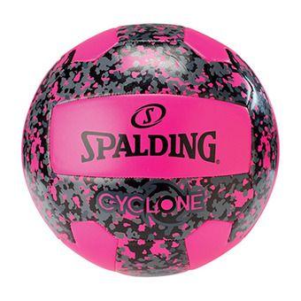 Balón de vóley playa CYCLONE rosa flúor/negro