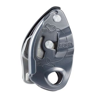 Petzl GRIGRI - Belay Device - grey
