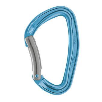 Mousqueton courbe DJINN bleu