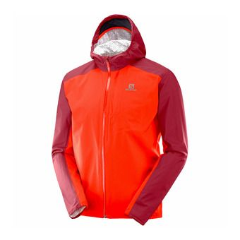 Salomon BONATTI WP - Chaqueta hombre fiery red/biking re