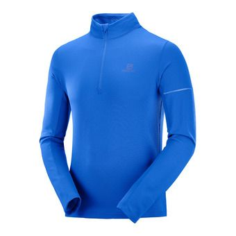 Camiseta térmica hombre AGILE HZ MID nautical blue/blithe
