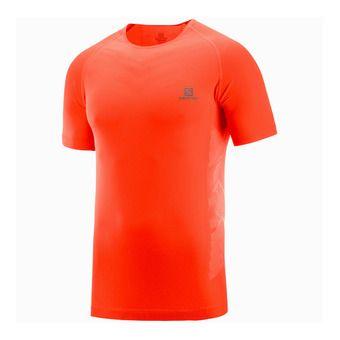 Salomon SENSE PRO - Camiseta hombre fiery red