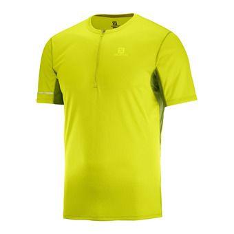 Salomon AGILE - Camiseta hombre citronelle