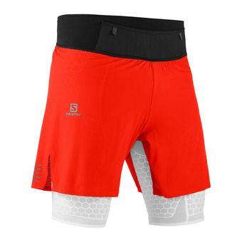Short homme EXO TWINSKIN fiery red/white