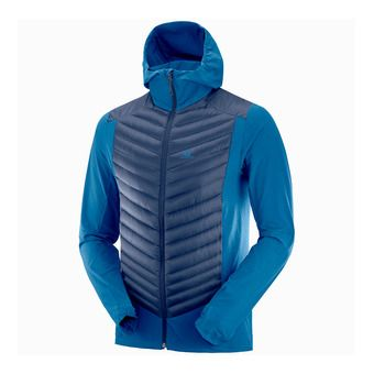 Salomon HALOES - Veste Homme poseidon/night