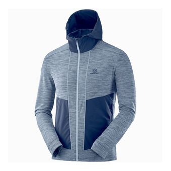 Salomon OUTLINE - Sweat Homme stone/night sky