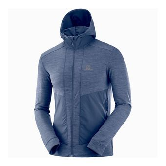 Sudadera hombre OUTLINE night sky heather