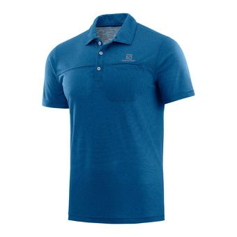 Salomon EXPLORE - Polo Homme poseidon