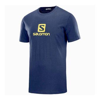 Salomon LOGO - Tee-shirt Homme night sky